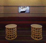 Private film screening room