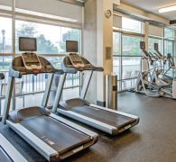Cardio equipment available
