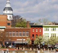 Serene surroundings Maryland's capitol